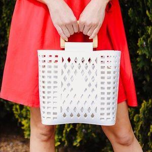 Joy Susan Madison Crossbody Bag in White